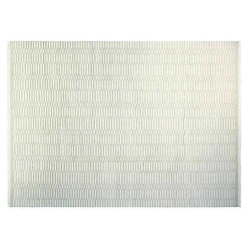 9'x12' Soho Hand-Knotted Rug, Mint/Ivory
