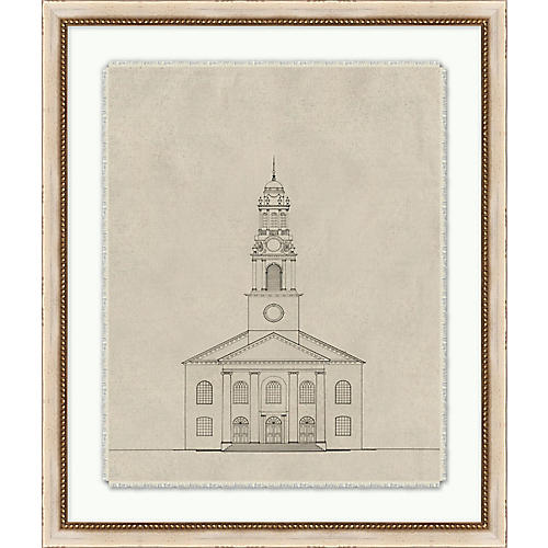 Lillian August, Cathedral Sketch 2