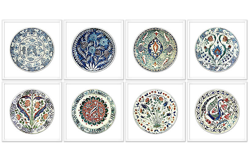 Lillian August, China Plate Set