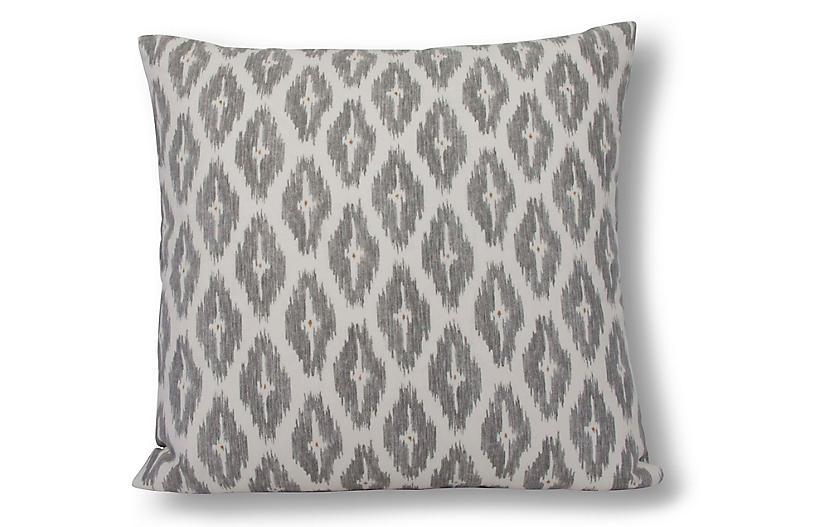 Diwali 22x22 Pillow, Dove