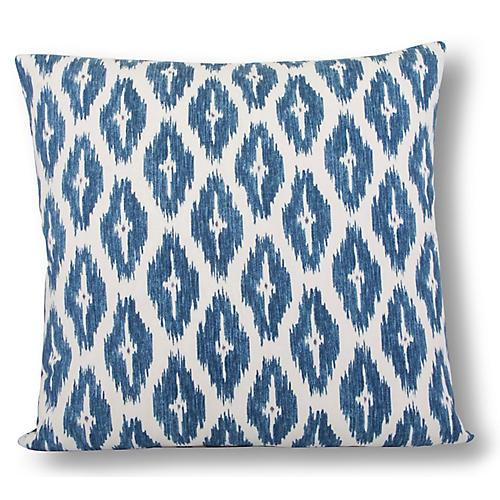 Diwali 22x22 Pillow, Sapphire
