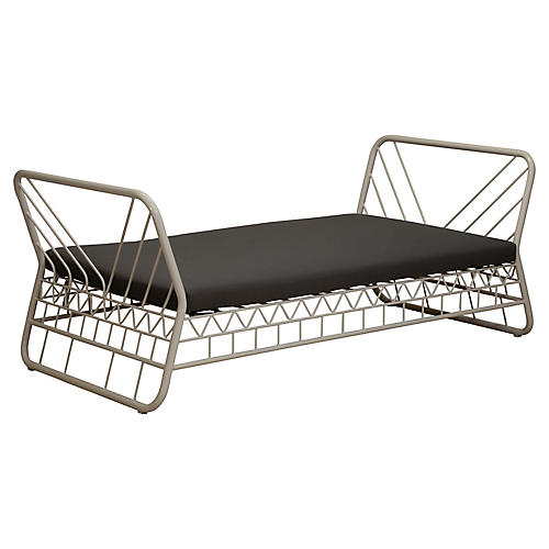 Mavericks's Daybed, Dark Gray