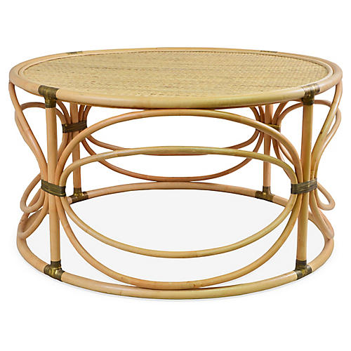 Edith Coffee Table, Natural