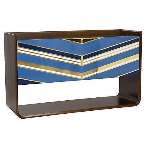 Morgan Sideboard, Blue/Multi