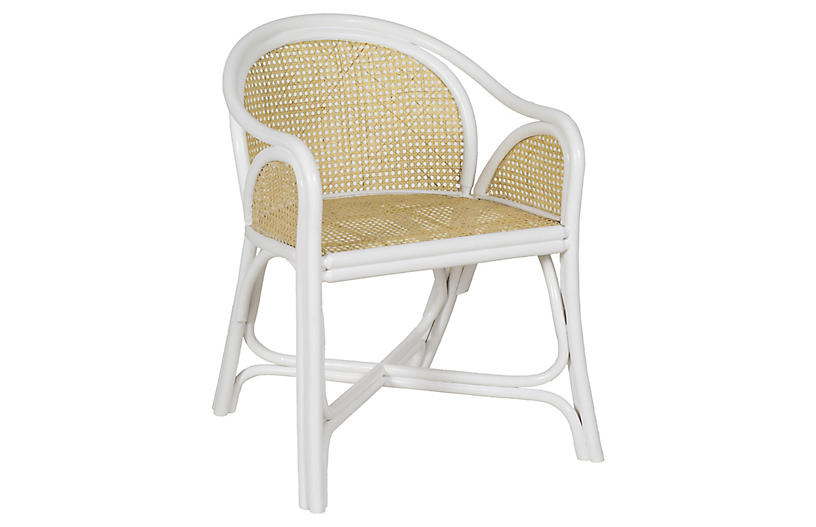 Bolinas Side Chair, White