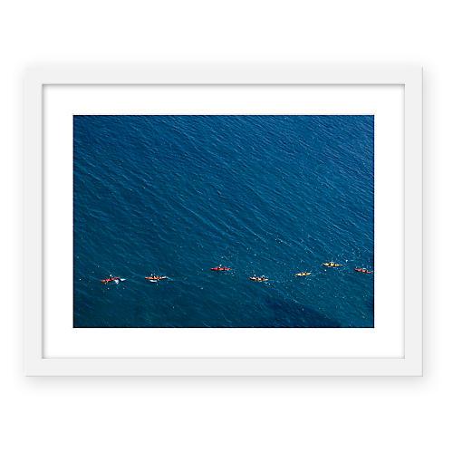 Judith Gigliotti, Seven Kayaks