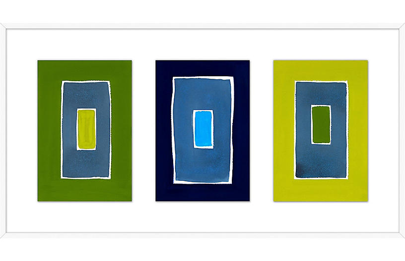 Rob Delamater, Cleft Triptych
