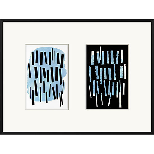 Rob Delamater, Beyond Blue Diptych