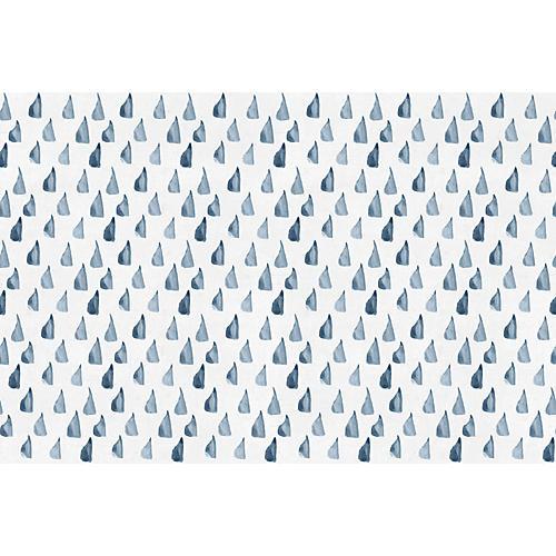 Dots Wallpaper, Blue