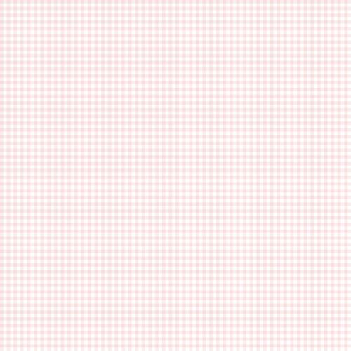 Micro Gingham Wallpaper, Pink