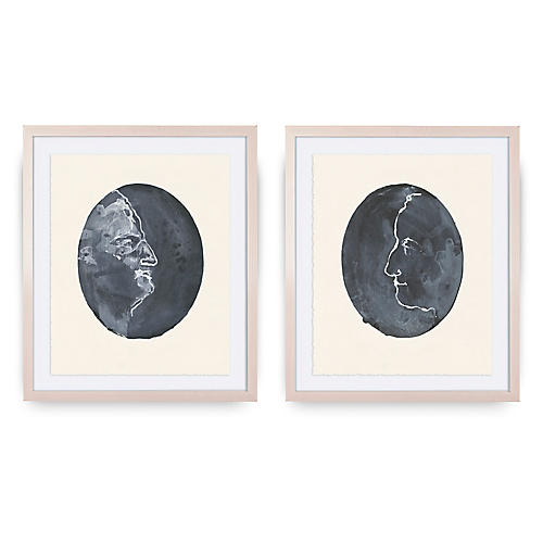 Mary H. Case, Faces Diptych