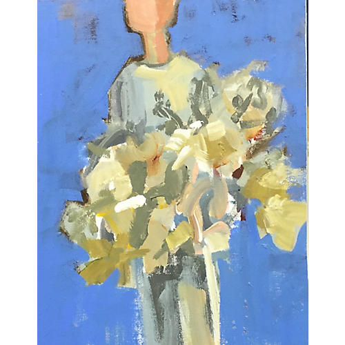 Page Morris, Woman With Bouquet