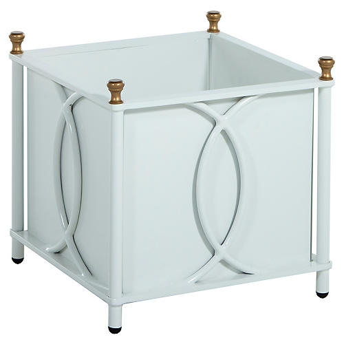 Frances Large Planter, White