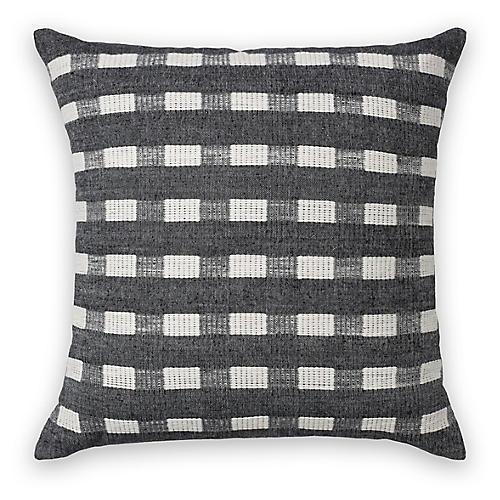 Berchi 20x20 pillow, Onyx