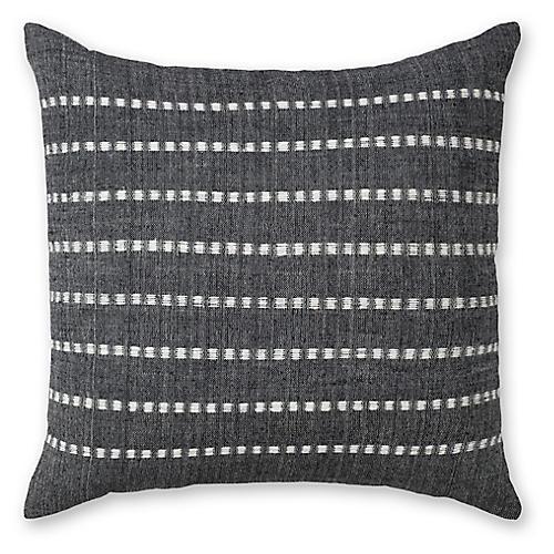 Bati 18x18 pillow, Onyx