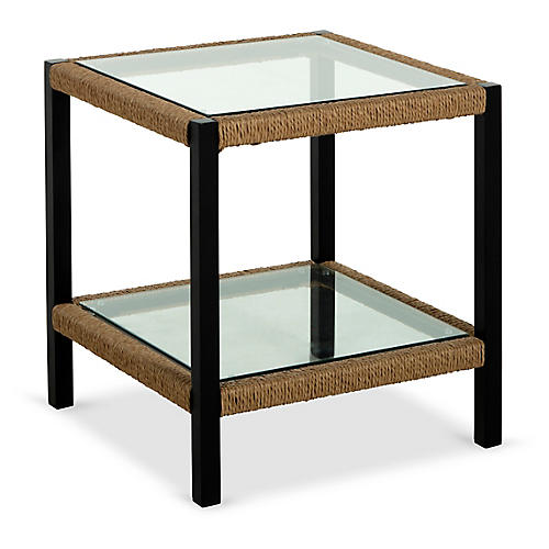 Harper Side Table, Matte Black