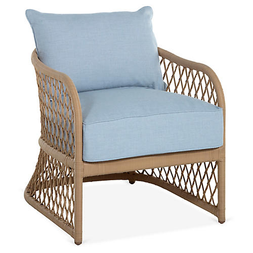 Carmel Lounge Chair, Chambray