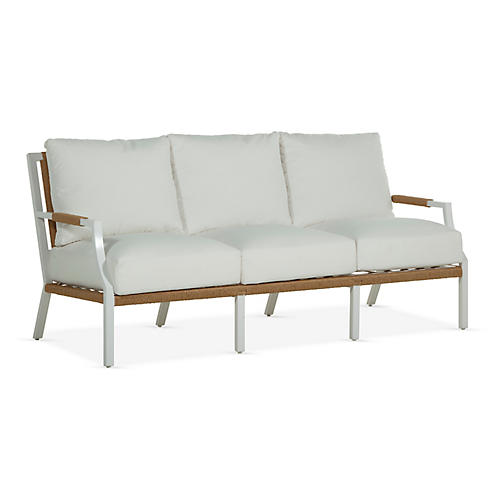 Harper Sofa, White