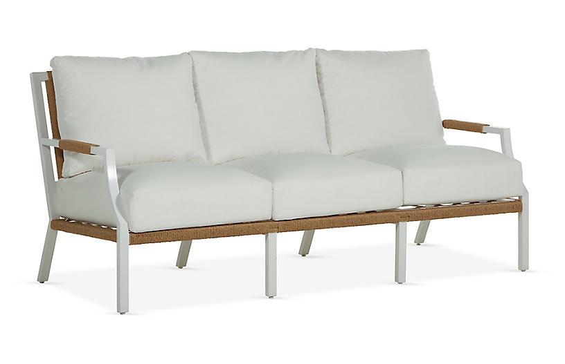 Harper Sofa, White
