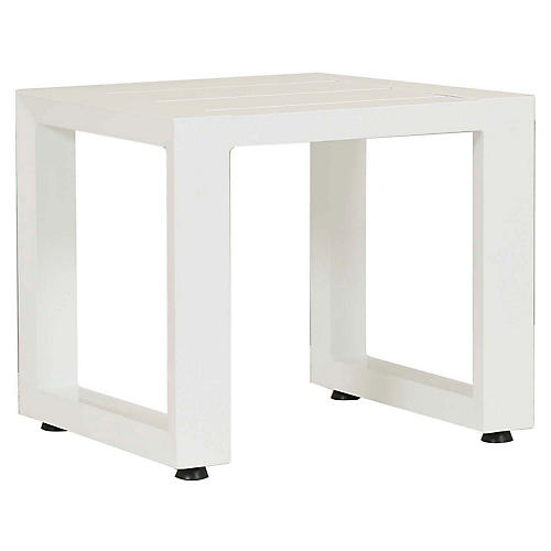 Newport Side Table, Frost