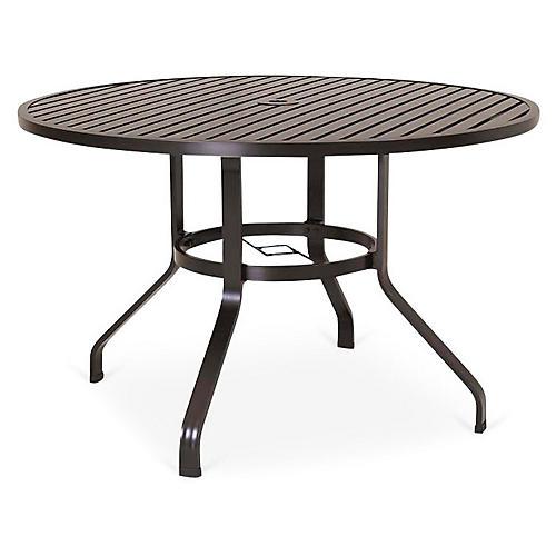 "La Jolla 48"" Dining Table, Espresso"