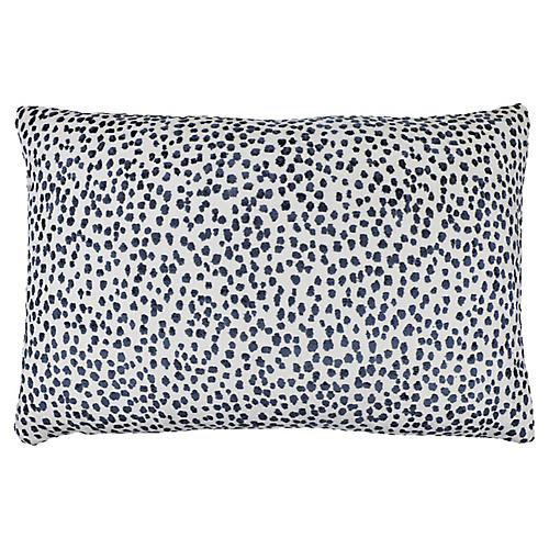 Lola 16x24 Pillow, Sapphire