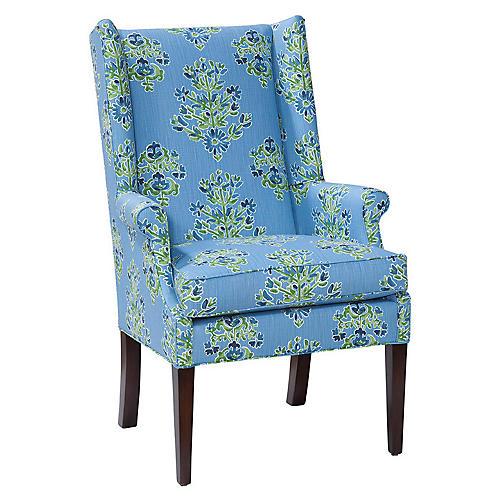 Charles Chair, Cornflower Blue