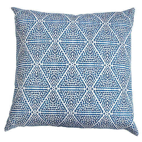 Miguel Pillow, Blue/White