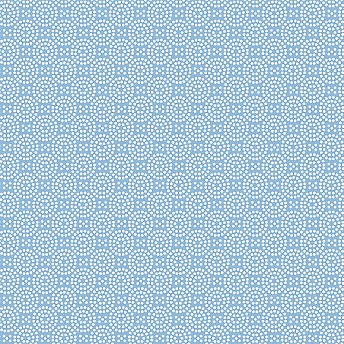 Dot Dot Wallpaper, Cornflower