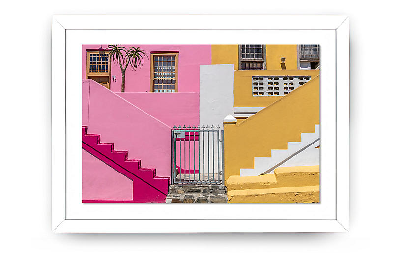 Richard Silver, Bo Kaap Pink and Yellow