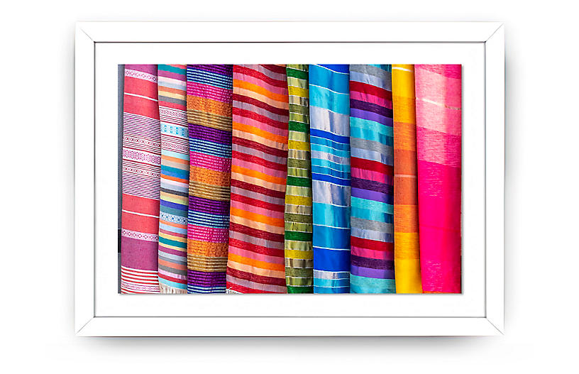 Richard Silver, Colored Moroccan Scarves