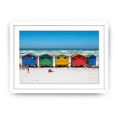 Richard Silver, Five Muizenberg Beach Huts