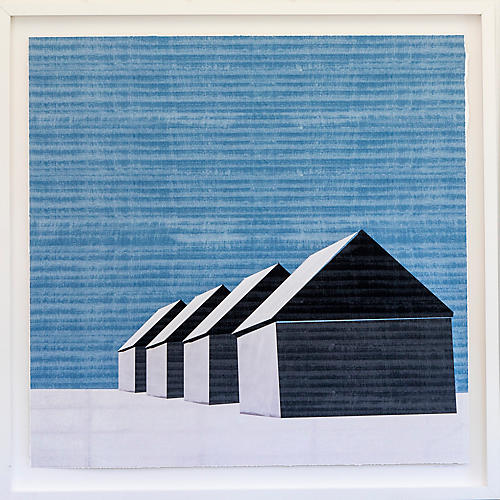 Dawn Wolfe, Barns in the Snow