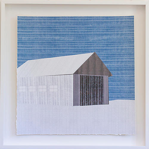 Dawn Wolfe, Barn in Winter