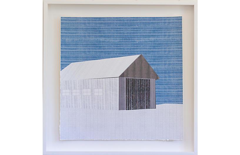 Dawn Wolfe, Barn in Winter