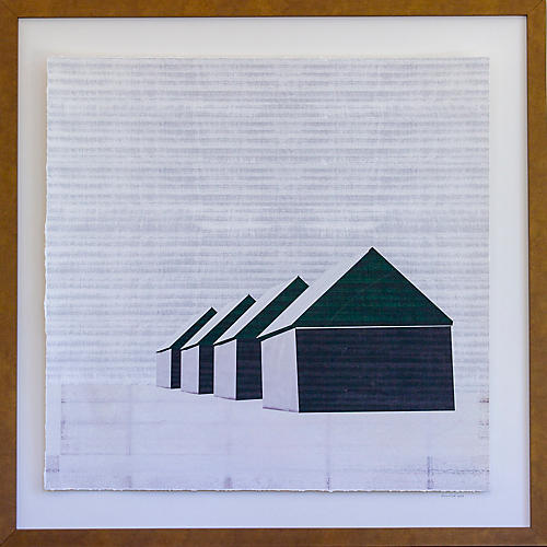 Dawn Wolfe, Winter Barns