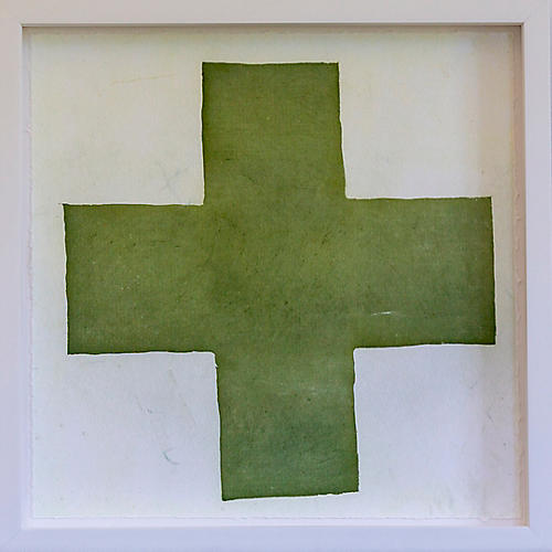 Dawn Wolfe, Olive Green Intagilo Cross