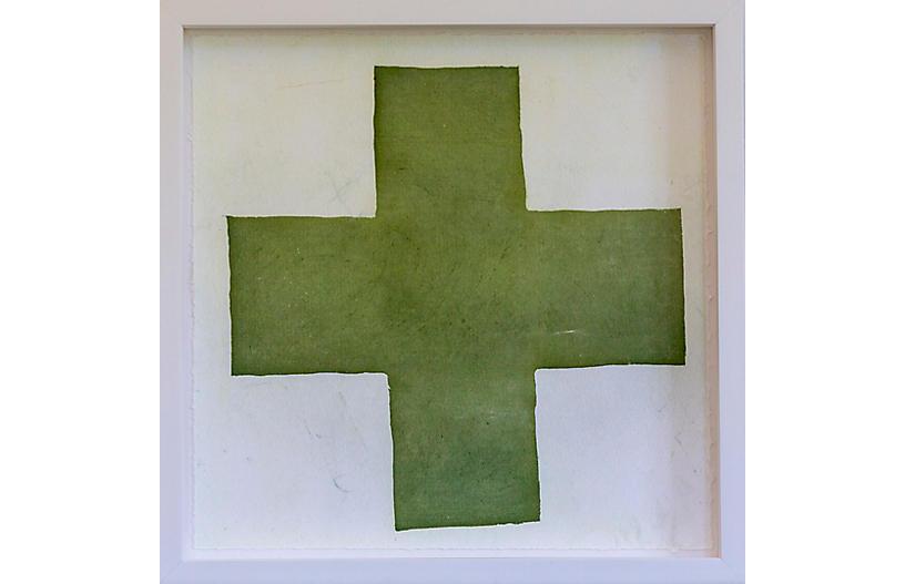 Dawn Wolfe, Olive Green Intagilo Cross