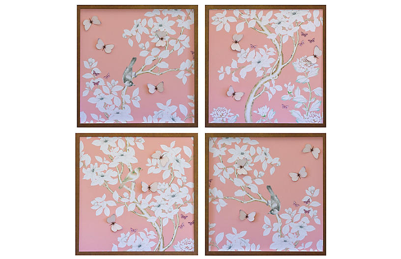 Dawn Wolfe, Pink Chinoiserie Set