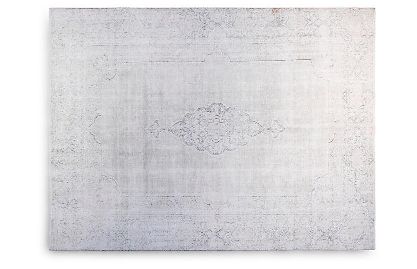8'x11' Hannah Hand-Knotted Rug, Ivory