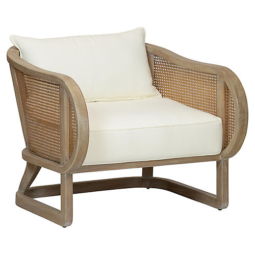 Stockholm Accent Chair, Natural