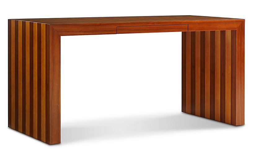 Finley Desk, Rosewood/Sycamore Veneer