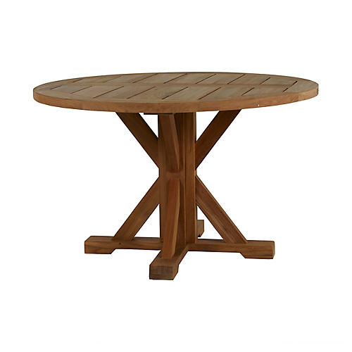 Modena Dining Table, Natural Teak