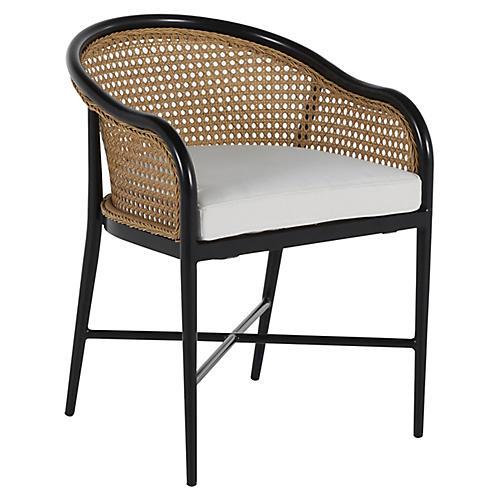 Havana Outdoor Armchair, Black