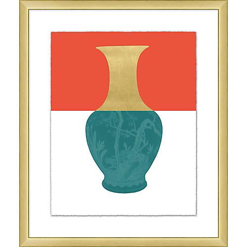 Golden Color Vase I