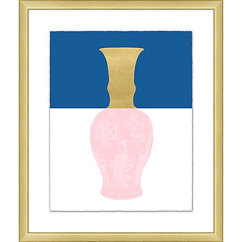 Golden Color Vase II