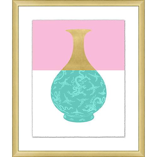 Golden Color Vase IV