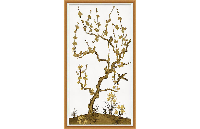 Lillian August, Gold Vine Chinoiserie II