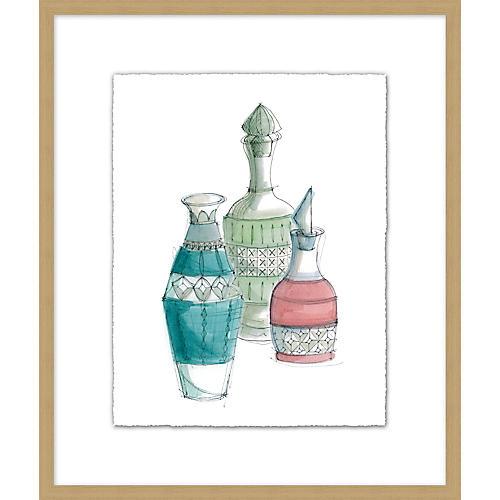 Jo Sampson, Crystal Vase II