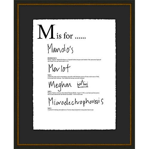 Jo Sampson, M is For